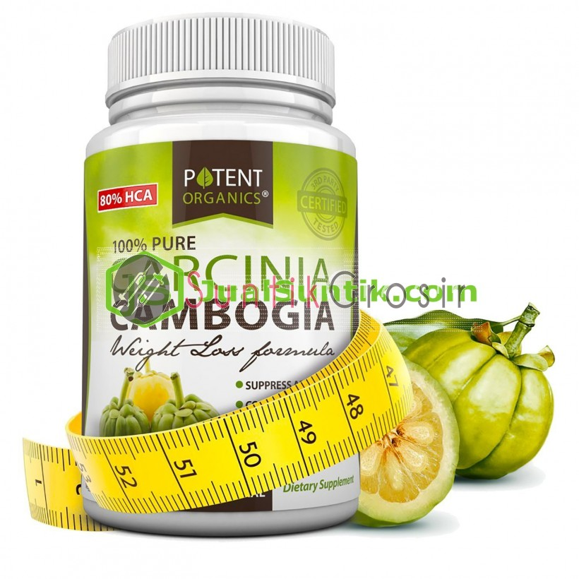 Pure Garcinia Cambogia Extract - 180 Capsules - 80% HCA - Best Weight Loss Supplements - Healthy Digestive System - Natural Appetite Suppressant _1